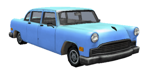 Civilian Cabbie [XBOX Quality] - Vice City - Vehicles